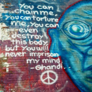 Hippie Quotes About Peace Hippy Hippie Quote Gandi