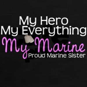 Proud sister of a U.S. Marine