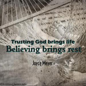 Joyce Meyer God Quotes
