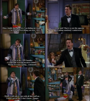 ... Everything You Own (friends,tv show,joey,joey chandler,chandler