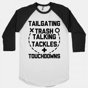 Tailgating, Trash Talking, Tackles and Touchdowns