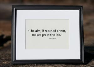 Framed Quote For Graduation