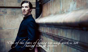 Benedict Cumberbatch quotes.
