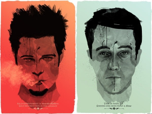 ... Self-destruction is the answer - tyler durden- Fight Club inspiration