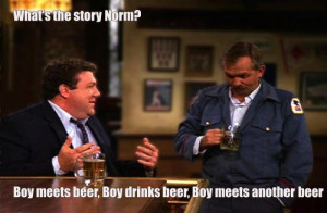18 Reasons Norm From 'Cheers' Was the Ultimate Bro Philospher