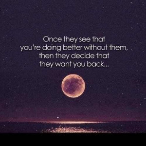 You're better off without them.