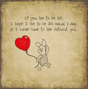 Winnie The Pooh Love Quote