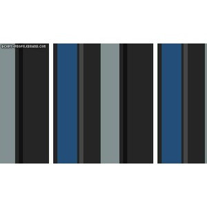 Blue and Grey Stripes Quotes Twitter Background