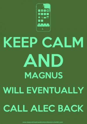The Mortal Instruments Magnus and Alec