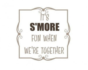 ... fanatic? Let me know @nick_conntekisi. #smores #yum #camping #quote