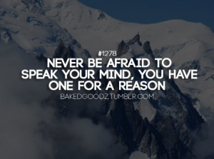quotes 3 afraid truths quotes sayings speak your mindfulness goals in ...
