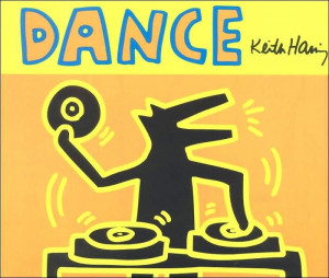 KEITH HARING - Dance