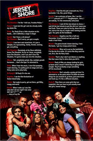 Jersey Shore - Cast Quotes Poster
