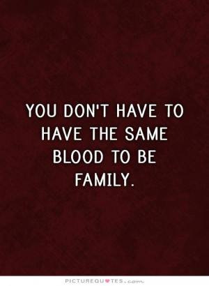 Family Quotes Blood Quotes