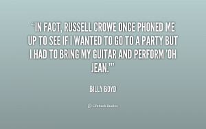 Russell Crowe Quotes