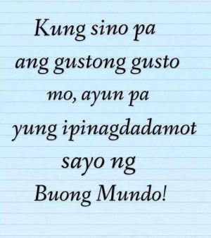 Mga patama Quotes tagalog