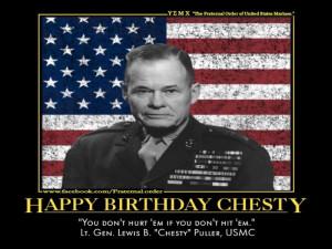 Happy Birthday Chesty!