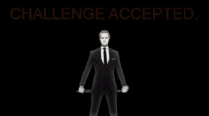 Challenge Accepted Barney