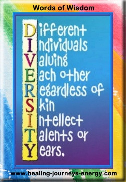 Diversity...is Different Individuals Valuing Each Other Regardless of ...