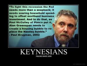 Moonbat, Paul Krugman: Fake Alien invasion could repair the economy.