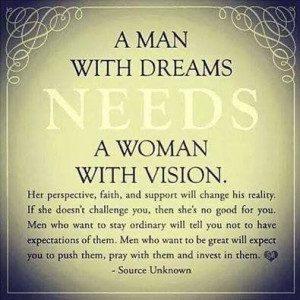 woman with vision, this I have.