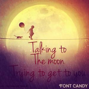 bruno mars, love, lyrics, quote, talking, to the moon