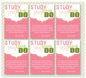 FREE LDS Handouts and Printables