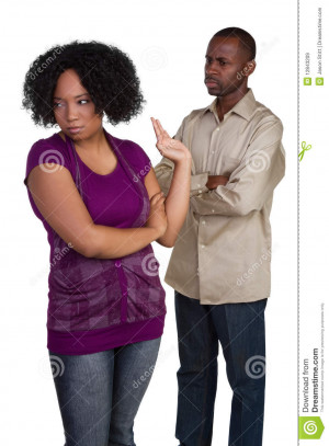 Royalty Free Stock Images: Angry Couple