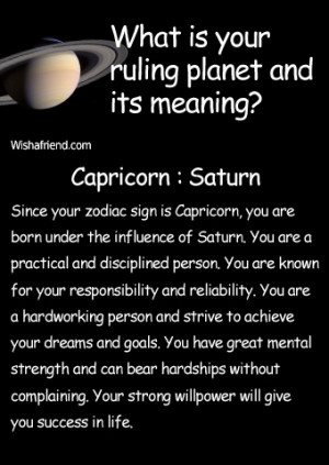 Find out your ruling planet and its meaning - Result