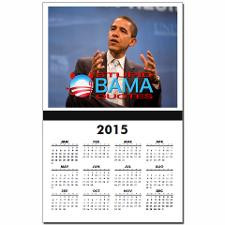 Stupid Obama Quotes Cover Calendar Print for