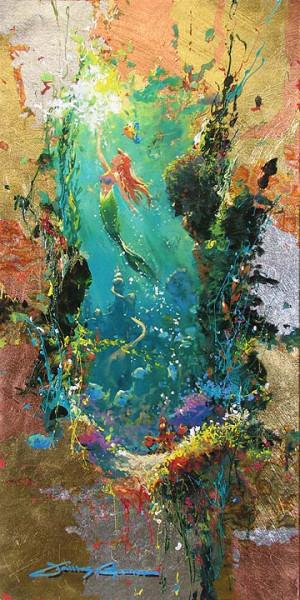James Coleman 1949 | American Impressionist painter