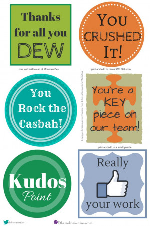 Employee engagement gifts | Appreciation badges | coworker ideas ...