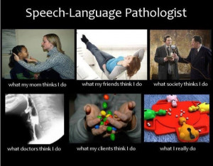 What does a speech pathologist do?