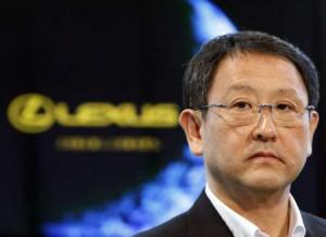 Akio Toyoda Reuters