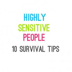 Highly Sensitive People #HSP #MentalHealth