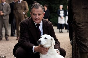 Hugh Bonneville, 50, who plays Lord Grantham in TV drama Downton Abbey ...