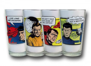 images of this star trek quotes pint glass set is a great looking ...