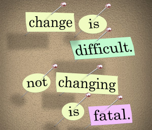 Without strategy, change is merely substitution not evolution.