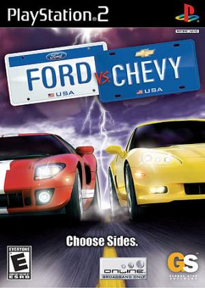 chevy vs ford logo