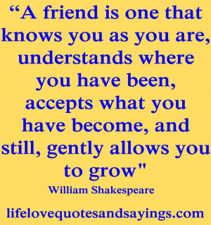 Best Quotes And Sayings About Love And Friendship