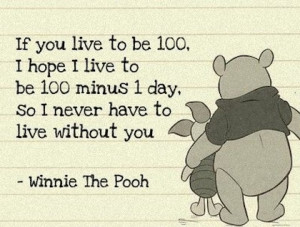 Famous Quotes By Winnie The Pooh 100 minus 1 winnie the pooh