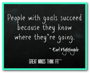 Goal Quotes For...