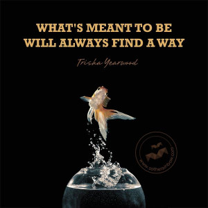 What's meant to be will always find a way positive images