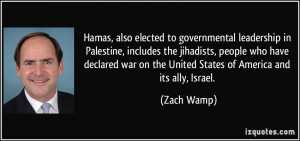 Hamas, also elected to governmental leadership in Palestine, includes ...
