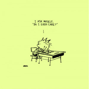 via thisisnthappiness Calvin and Hobbes by Bill Watterson!