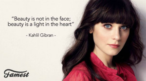 zooeydeschanel #quote #fashion #famousquotes #beauty