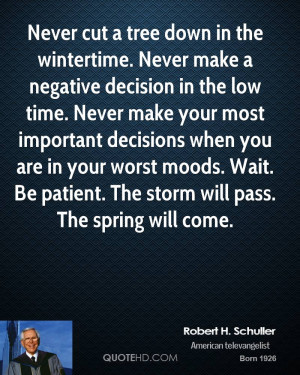 Robert H. Schuller Time Quotes