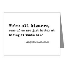 The Breakfast Club Quotes Thank You Cards amp Note Cards