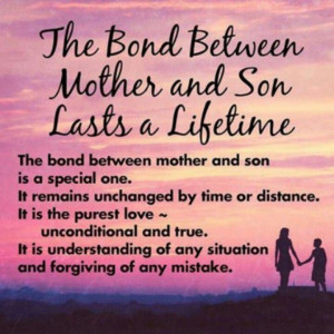 Bond between mother and son