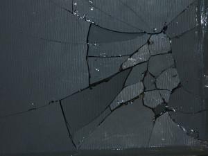 Broken Glass Texture Hstock